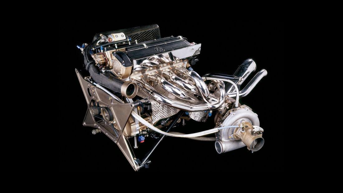 Brabham-BMW BT52 - BMW-Vierzylinder-Turbo