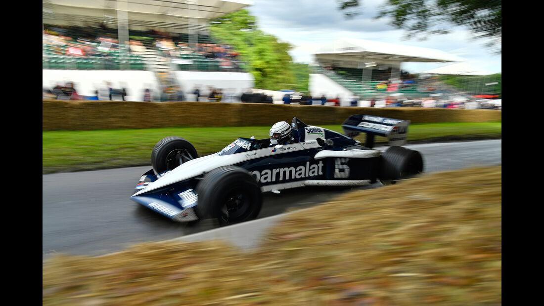 Brabham BMW BT52 (Goodwood 2017)