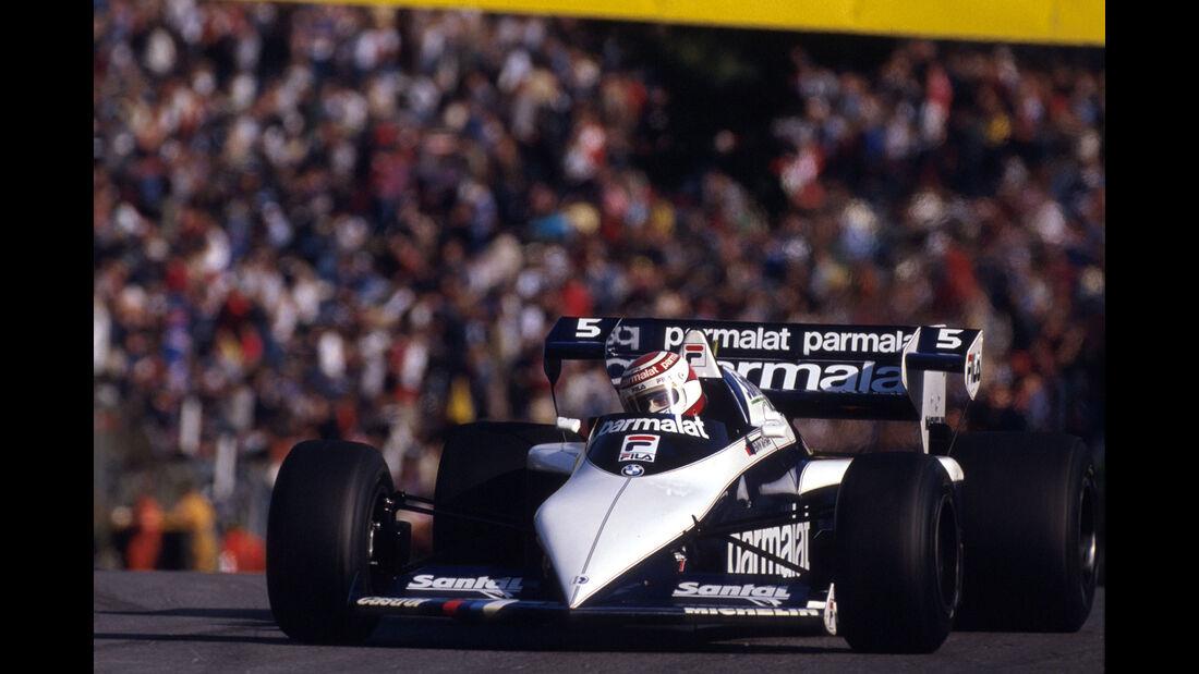 Brabham-BMW BT52B Turbo - Nelson Piquet - Brands Hatch 1983 - Formel 1