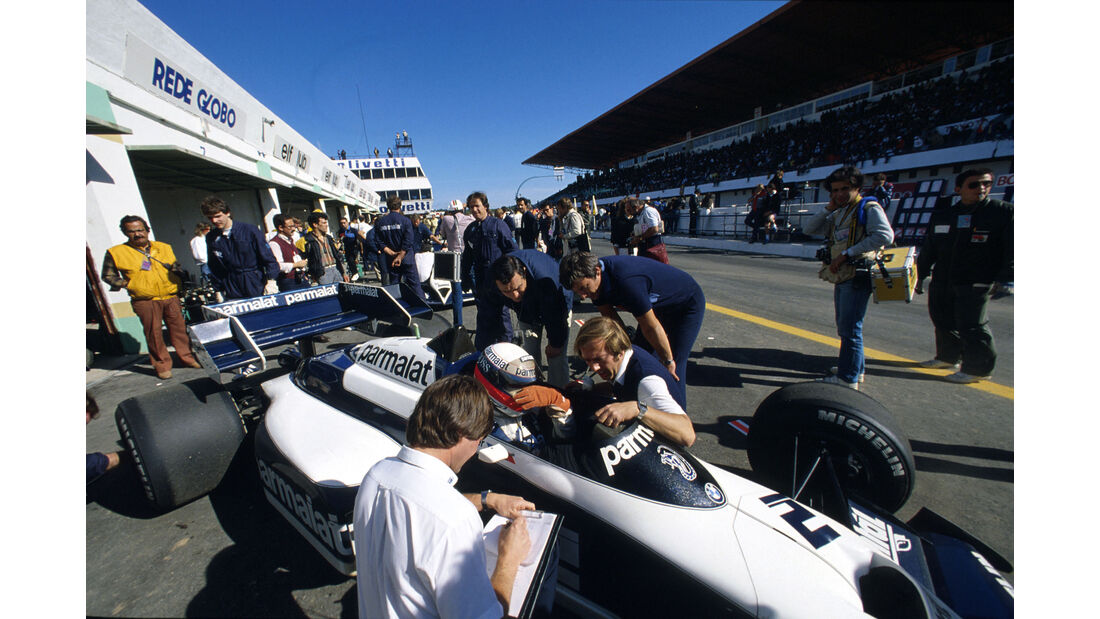 Brabham-BMW BT53 Turbo - Manfred Winkelhock - GP Portugal 1984 - Formel 1