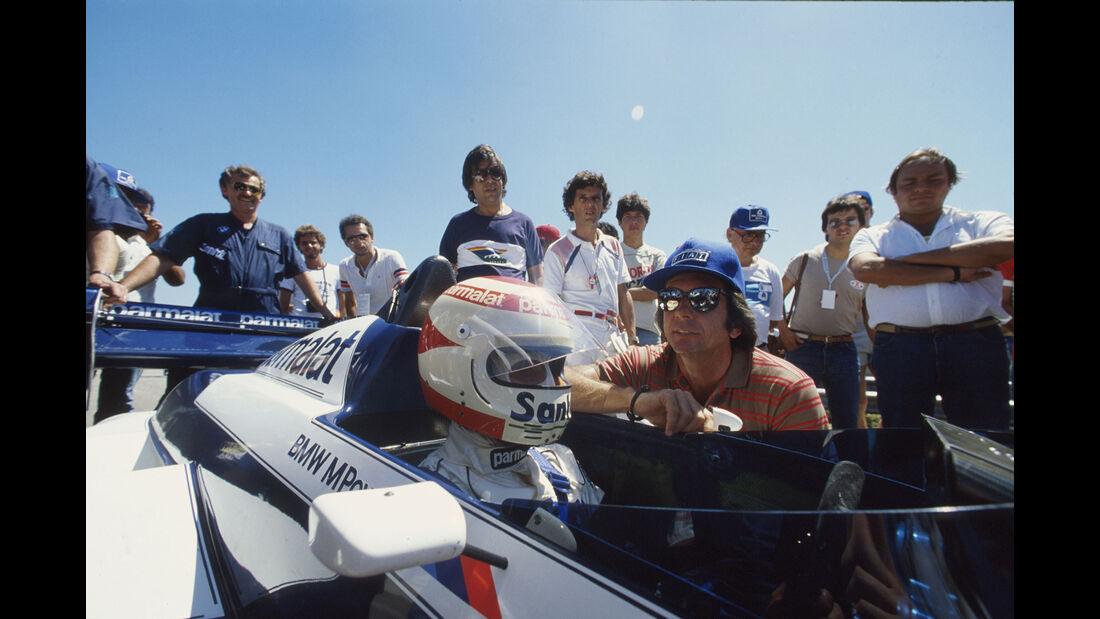 Brabham-BMW BT53 Turbo - Nelson Piquet - Emerson Fittipaldi - GP Brasilien 1984 - Formel 1