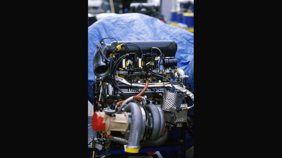 Brabham-BMW BT55 - BMW Turbo - Vierzylinder - Formel 1