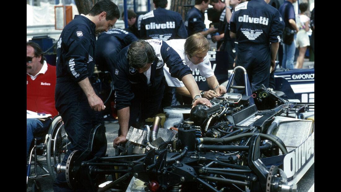 Brabham-BMW BT55 - BMW Turbo - Vierzylinder - GP Monaco 1986 - Formel 1