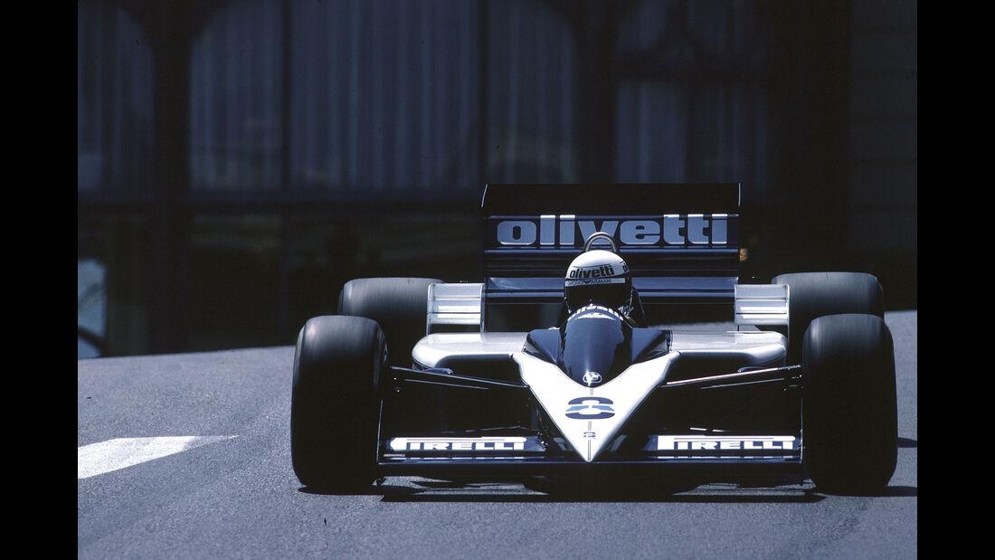 Brabham-BMW BT55 Turbo - Elio de Angelis - GP Monaco 1986