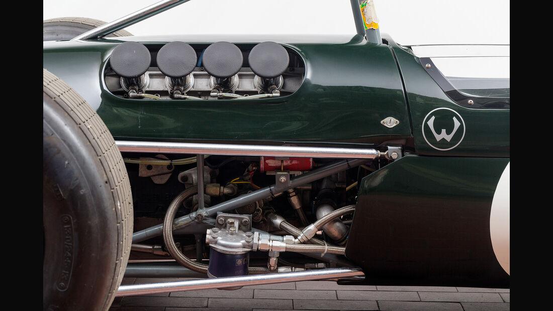 Brabham BT23-5, Jochen Rindt, Formel 2, Auktion, Versteigerung Classic Cars Berlin am 26.06.2015