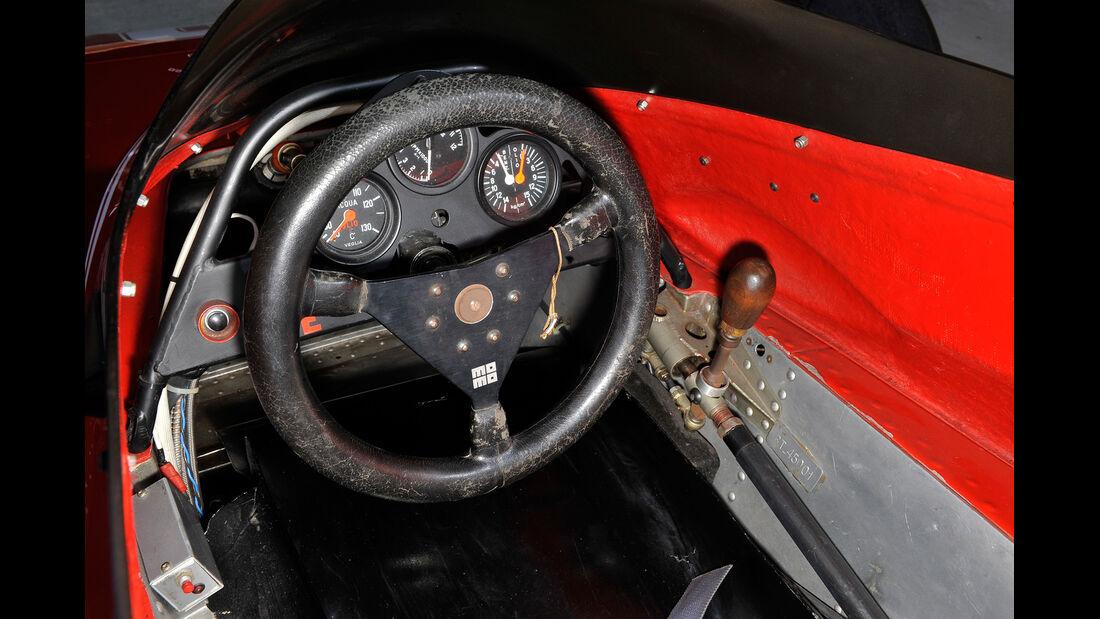 Brabham BT45 - Alfa R., Cockpit, Lenkrad