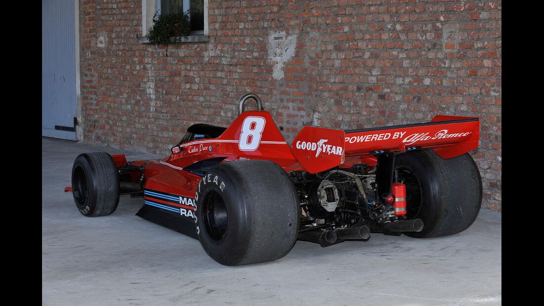 Brabham BT45 - Alfa R., Heckansicht