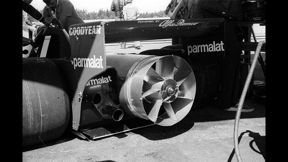 """Brabham BT46 - Rennwagen - Spitzname """"Staubsauger"""""""