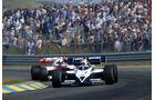 Brabham BT53 Turbo - Nelson Piquet - Alain Prost - McLaren-Porsche MP4-2 - GP Niederlande 1984 - Formel 1