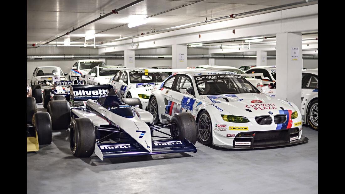 Brabham BT54 - Baujahr 1985 - Formel 1 - BMW M3 GT2 - Rennwagen - BMW Depot