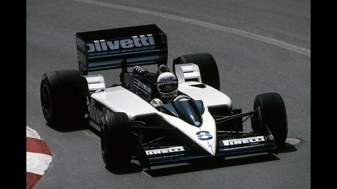 "Brabham BT55 - Rennwagen - Spitzname ""Skateboard"""