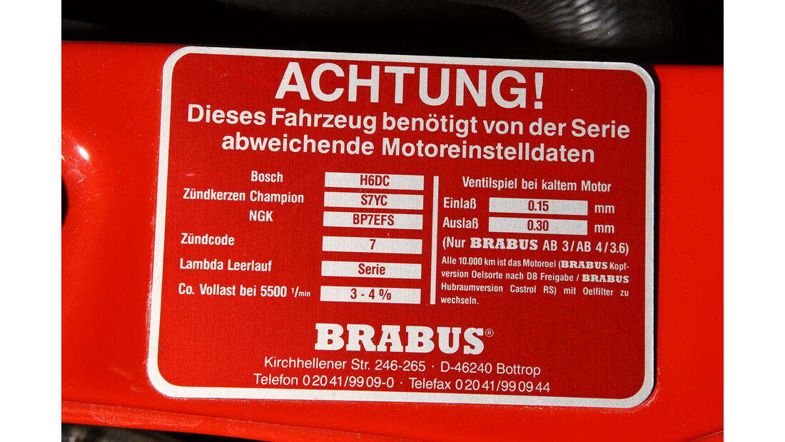 Brabus 190 E 3.6S Leichtbau