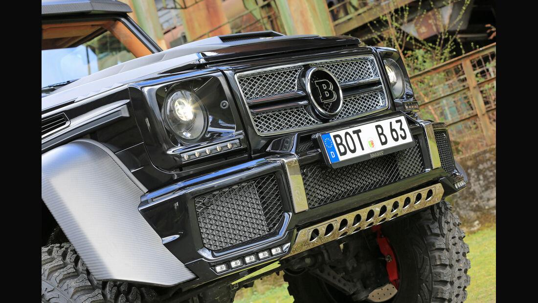 Brabus 700 6x6, Front, Kühlergrill
