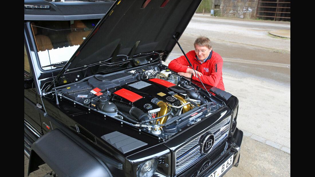 Brabus 700 6x6, Motor, Michael Harnischfeger
