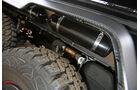 Brabus 700 6x6, Reifendruck-Regelanlage