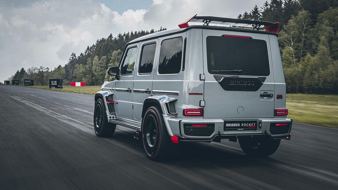 Brabus 900 Rocket Edition auf Basis Mercedes-AMG G63
