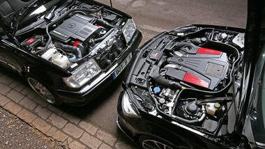 Brabus, E 500, CLS 500, Motoren
