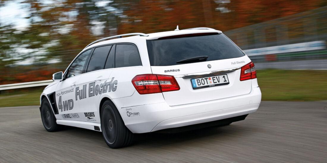 Brabus E4WD Full Electric, Heck