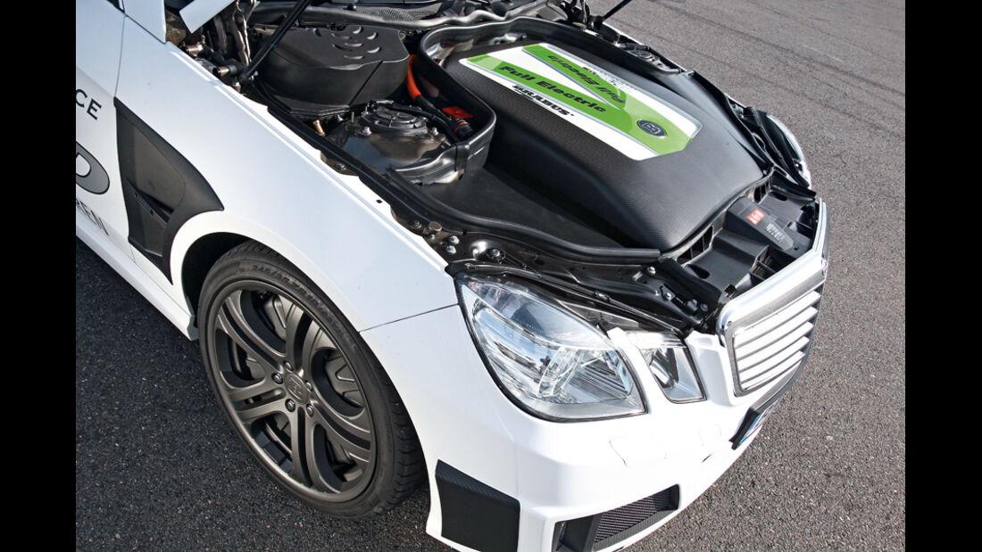 Brabus E4WD Full Electric, Motor