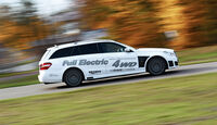 Brabus E4WD Full Electric, Seitenansicht