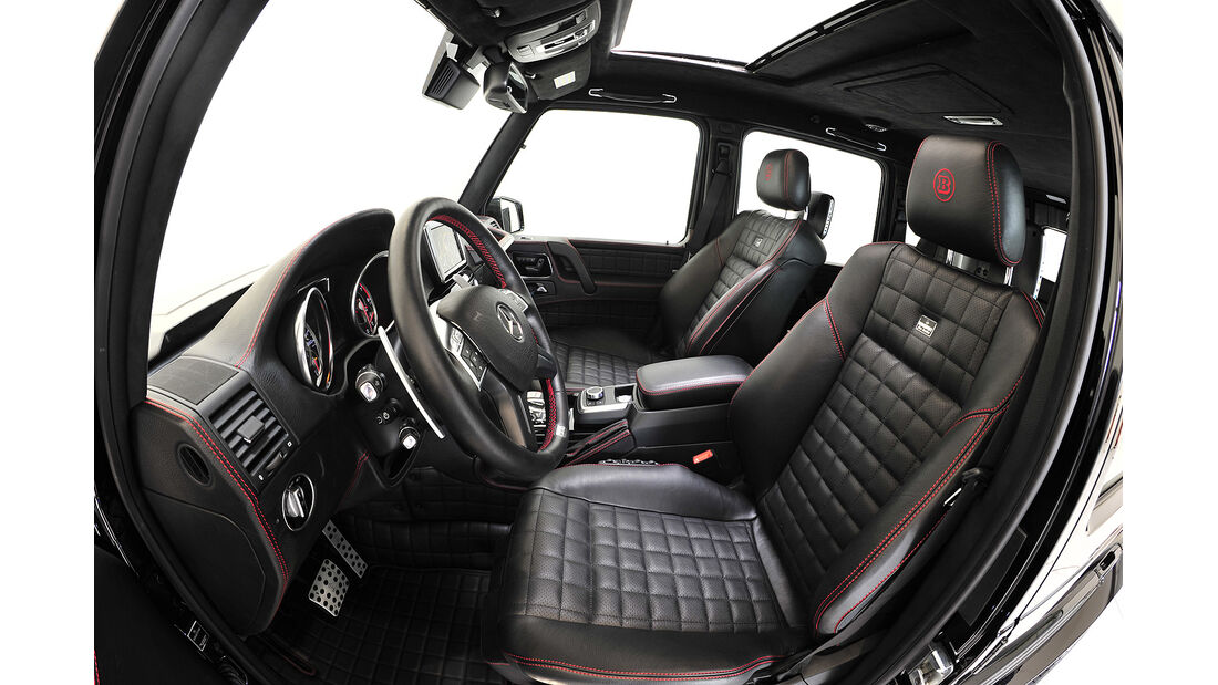 Brabus G800 iBusiness,Cockpit,Sitze
