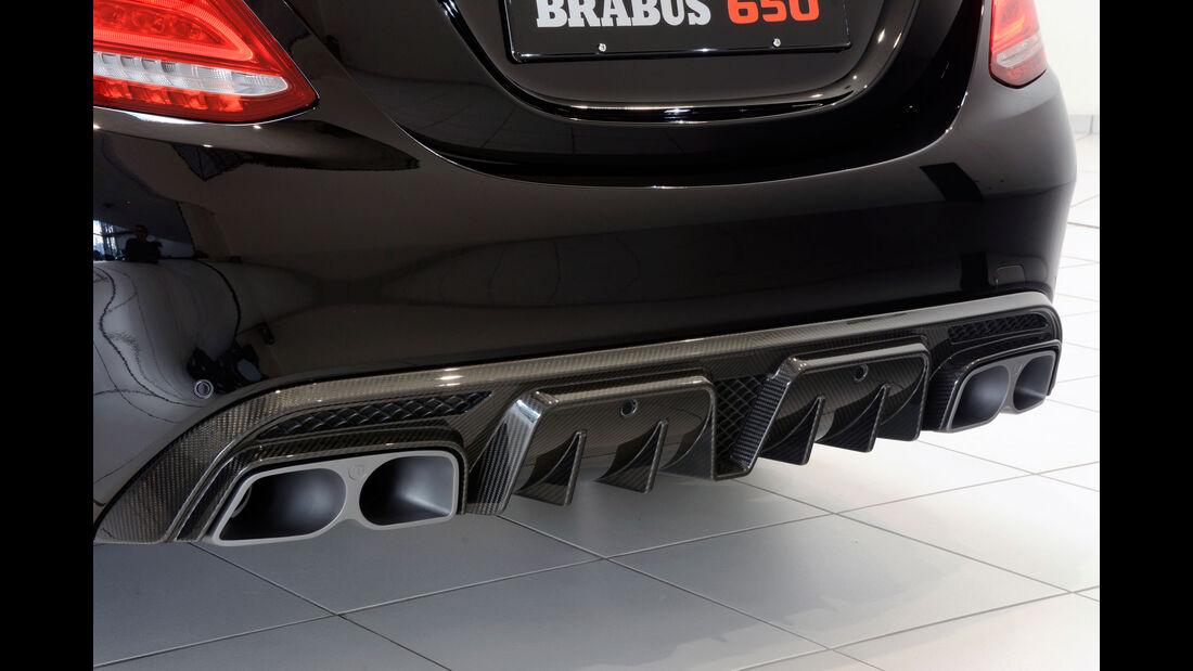 Brabus Mercedes C63 S Genfer Autosalon