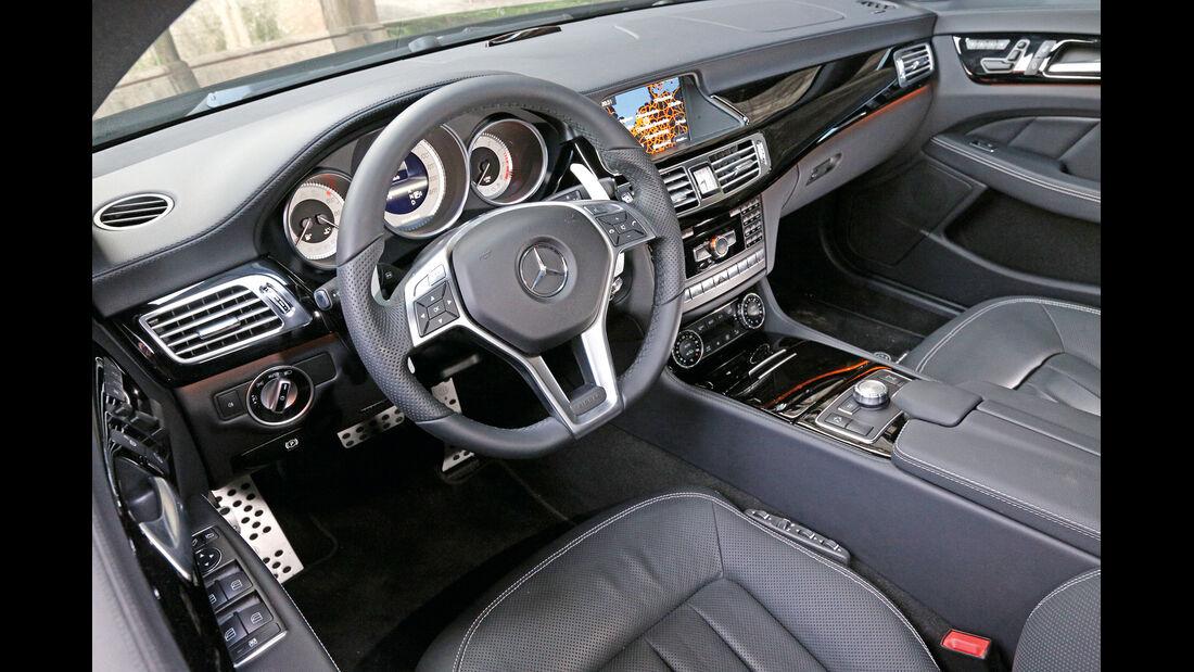 Brabus-Mercedes CLS 500, Cockpit