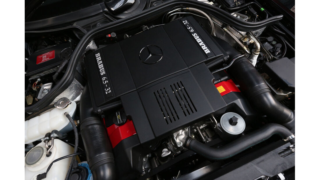 Brabus-Mercedes E 500, Motor