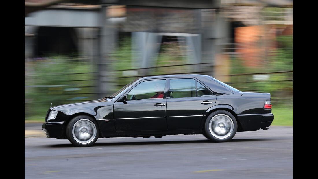 Brabus-Mercedes E 500, Seitenansicht