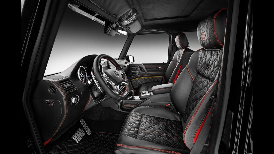 Brabus -Mercedes G 500 4x4, Tuning