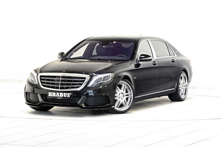 brabus mercedes maybach 900 ps f r den luxusliner auto motor und sport. Black Bedroom Furniture Sets. Home Design Ideas
