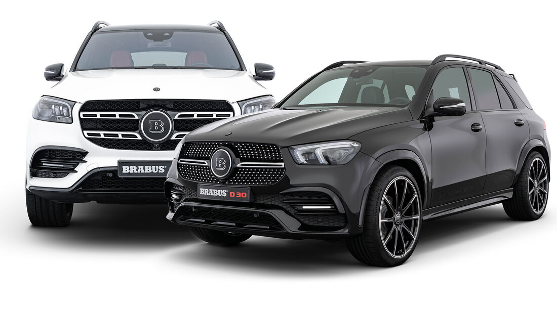 Brabus Mercedes SUV GLE GLS D30 D40 Tuning