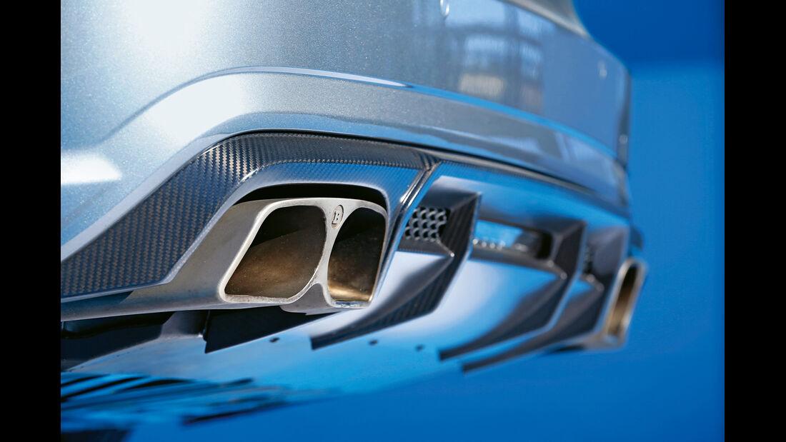 Brabus SL 850, Auspuff, Endrohre