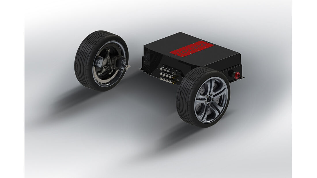 Brabus Technologieprojekt Hybrid, Mercedes E 220 CDI, Prototyp auf der IAA 2011