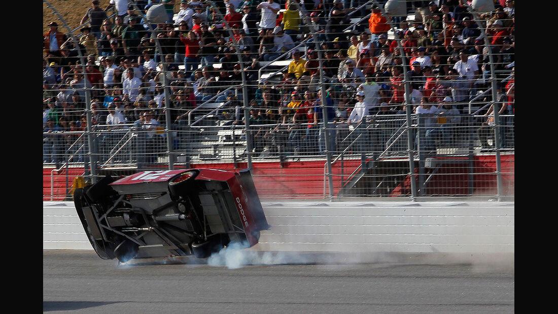 Brad Keselowski, Crash, Unfall