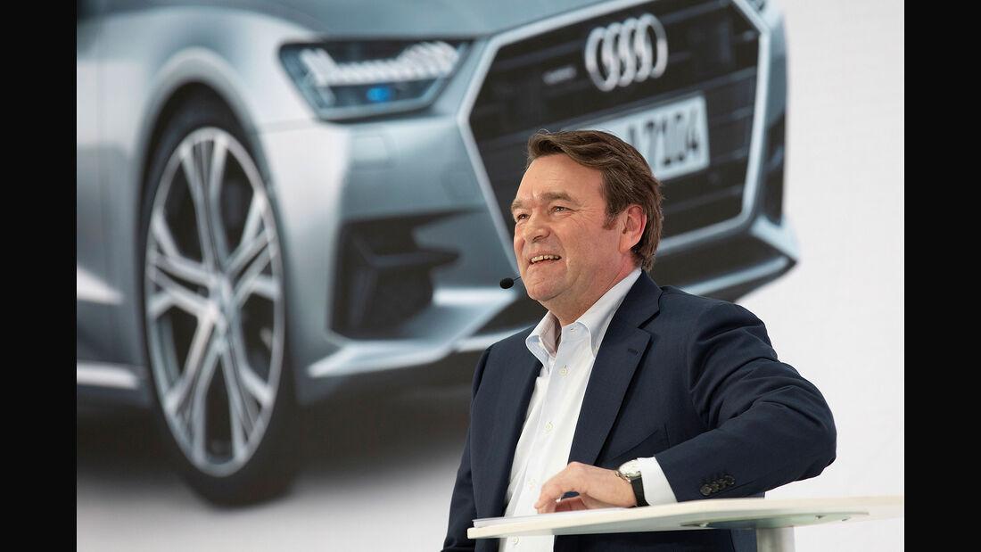 Bram Schot Audi CEO Jahrespressekonferenz 2019