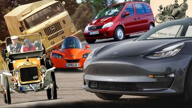Brandenburger Automarken Collage