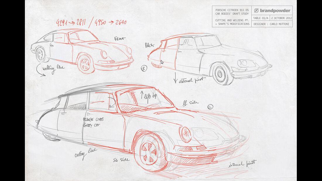 Brandpowder Porsche 911 DS Citroen