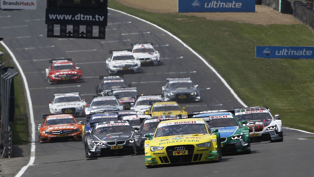 Brands Hatch DTM Start 2013