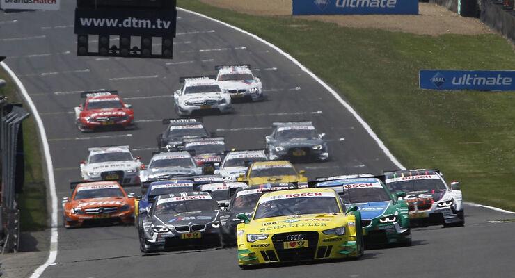 Brands Hatch DTM Start 2013