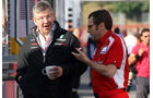Brawn & Domenicali GP Spanien 2011