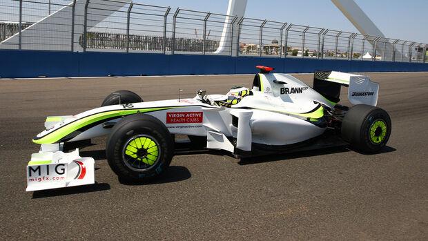 Brawn - Formel 1 - Radkappe - 2009