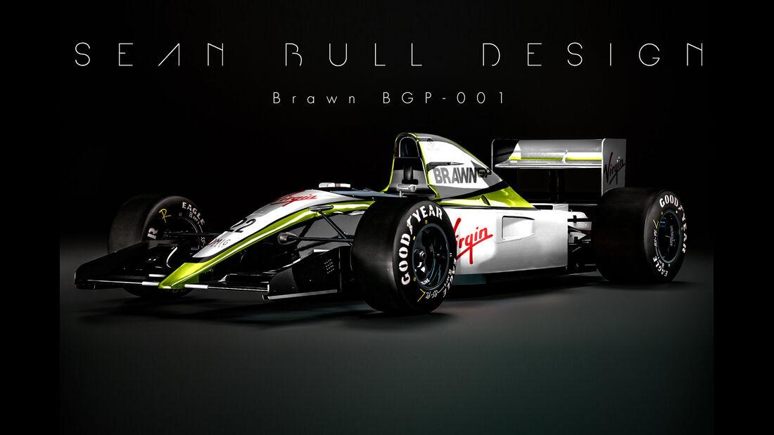 Brawn - Retro F1 - Sean Bull
