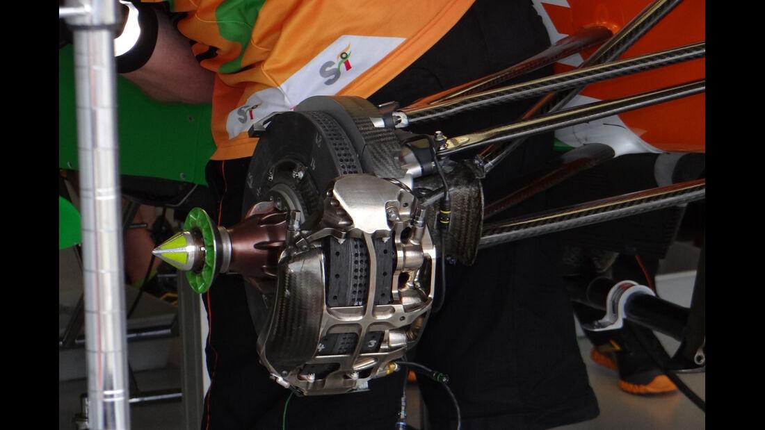 Bremse - Force India - GP Australien - 14. März 2012