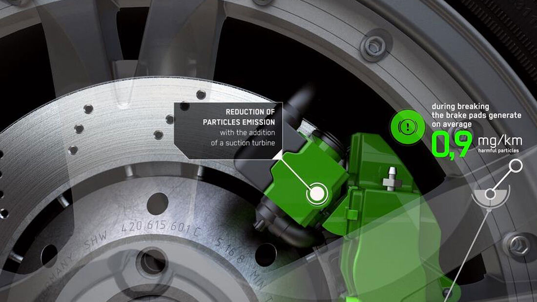 Bremsstaub-Sauger