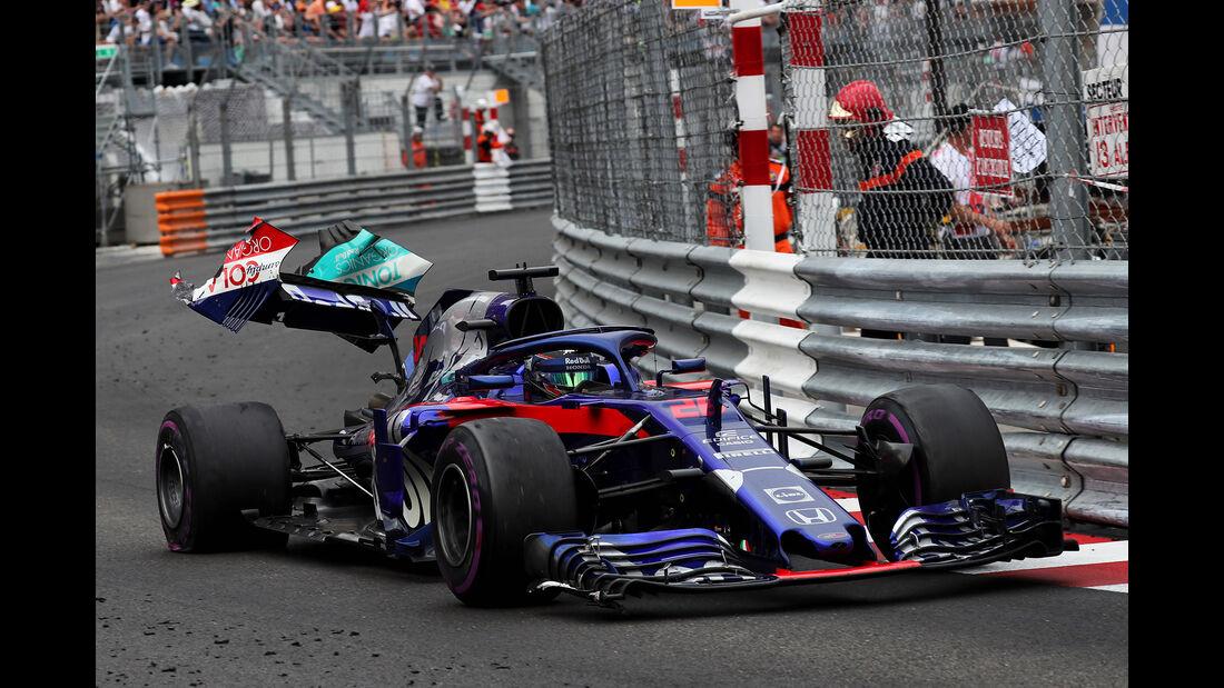 Brendon Hartley - Formel 1 - GP Monaco 2018