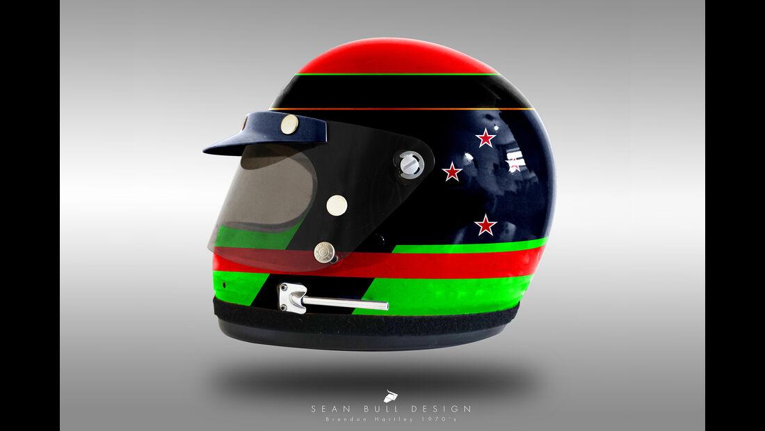 Brendon Hartley - Formel 1 - Retro-Helme - Sean Bull - 2018