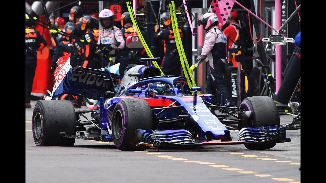 Brendon Hartley - GP Monaco 2018