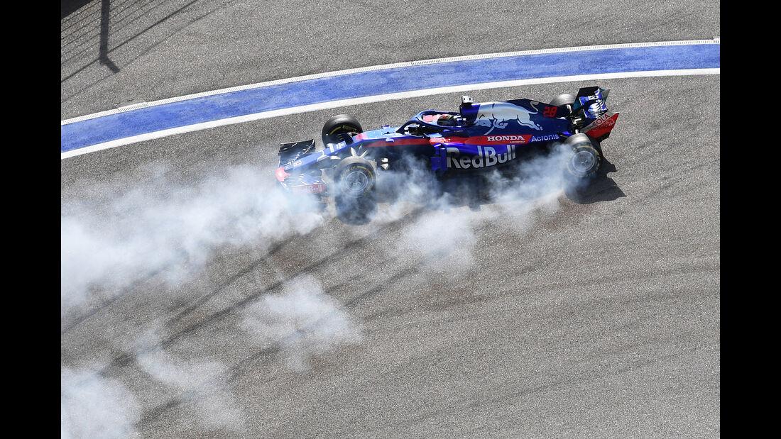 Brendon Hartley - GP Russland 2018
