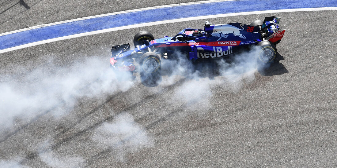 Brendon Hartley - GP Russland 2018